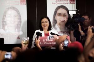 Labor leader Anastacia Palaszczuk's victory speech.